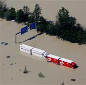 Tần số lũ lụt sẽ ngày càng tăng do biến đổi khí hậu
