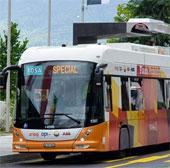 Hệ thống xe buýt sạc điện cực nhanh
