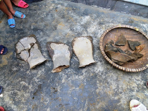 Phát hiện bộ xương lớn hóa thạch