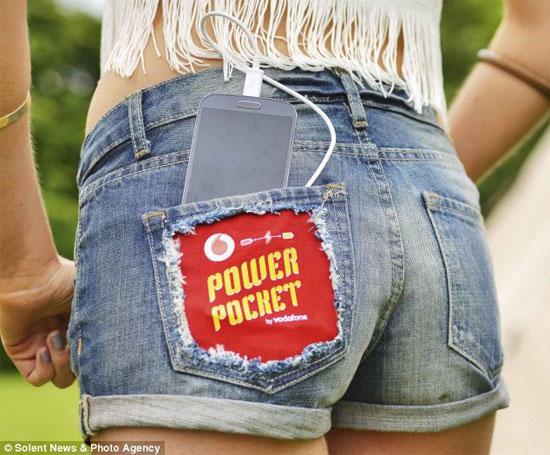Quần soóc và túi ngủ có thể phát điện