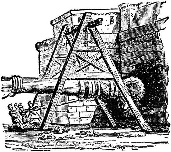 Từ thời cổ đại cho đến trung cổ, xe đập thành đã chứng tỏ được sự hiệu quả của mình vì vật liệu xây dựng thời bấy giờ có kết cấu khá yếu, khó có thể chịu được những cú đập mạnh liên tiếp từ thứ vũ khí này.