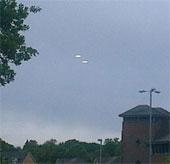 """UFO """"hiện nguyên hình"""" ở Anh?"""