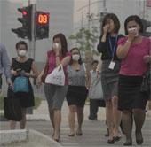 Ô nhiễm không khí tại Singapore đạt mức kỷ lục