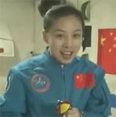 Video: Nữ phi hành gia Vương Á Bình giảng bài trực tiếp từ vũ trụ