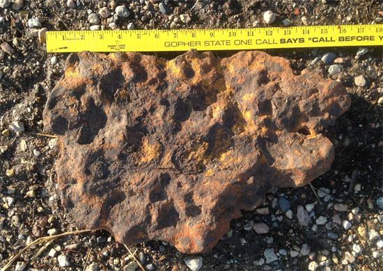 Nông dân Mỹ tìm được thiên thạch hàng tỷ năm tuổi