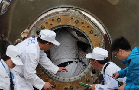 Phi thuyền Trung Quốc trở về trái đất