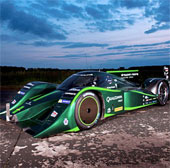 Kỷ lục tốc độ xe hơi điện đã bị phá