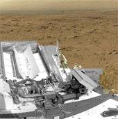 Xe tự hành chụp toàn cảnh sao Hỏa