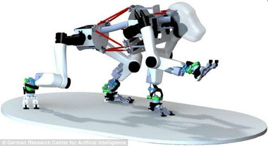 Robot khỉ sẽ đổ bộ lên Mặt trăng