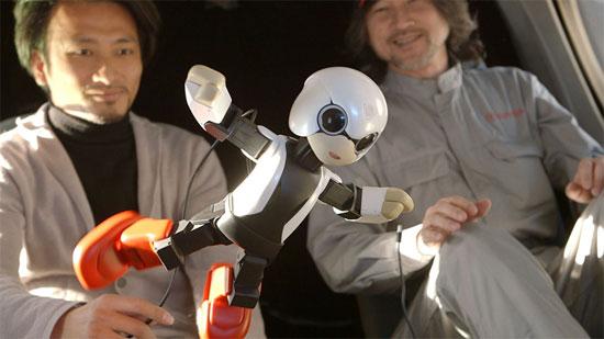 Nhật Bản phái người máy phi hành gia lên Trạm ISS