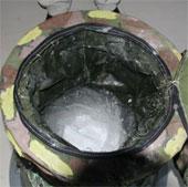 Sinh viên chế tạo máy giặt bỏ túi