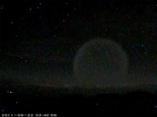 Video quả cầu ánh sáng kỳ lạ trên bầu trời Hawaii