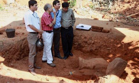 Phát hiện di tích Chămpa có niên đại 1.000 năm