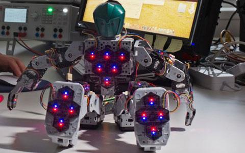 Robot có làn da nhạy cảm như người