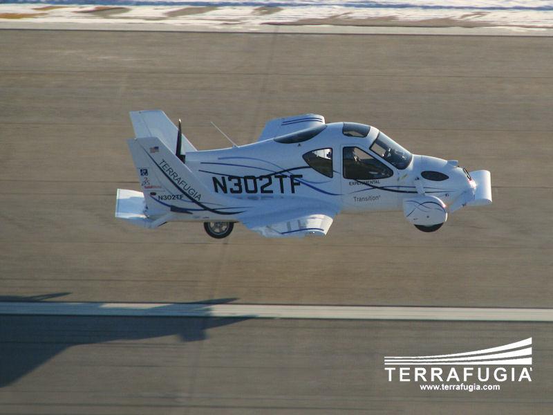 Video trình diễn ô tô bay Transition Terrafugia