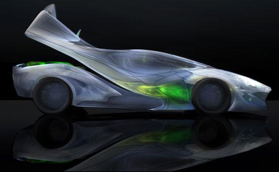 Xe hơi sinh học 3D cho tương lai