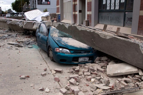 Các nhà địa chấn học cho biết, họ đã ghi lại được 7.500 trận động đất xảy ra ở Christchurch kể từ tháng 9 năm ngoái