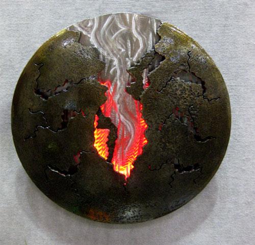 Một phần phóng xạ nhiệt mô hình Trái đất được thể hiện qua phép đo geoneutrino