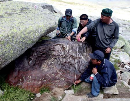 Phát hiện khối thiên thạch ở Trung Quốc