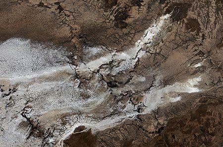 """Biển Chết đang """"chết"""" từ từ"""