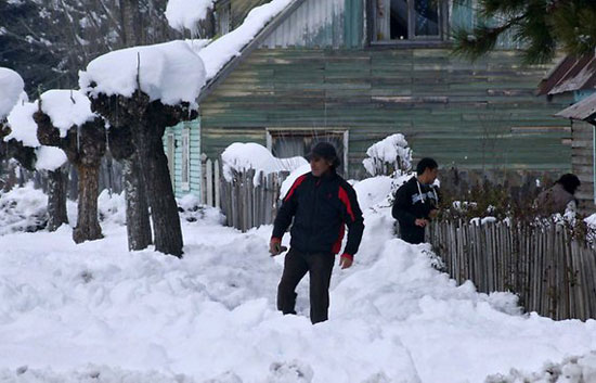 Bão tuyết nghiêm trọng ở Chile