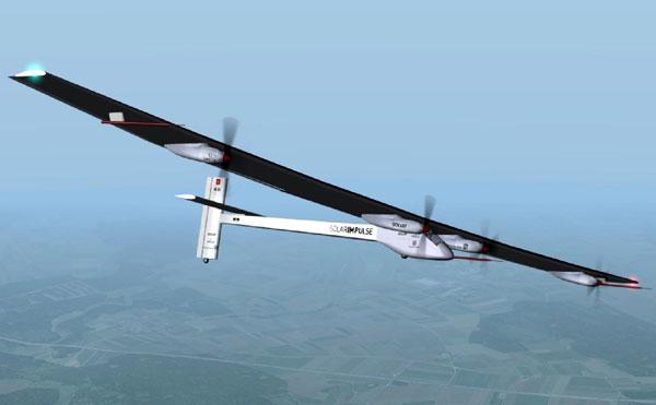 Máy bay chạy năng lượng Mặt Trời đã quay về
