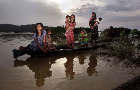 Lũ lụt tại Ấn Độ, 77 người thiệt mạng