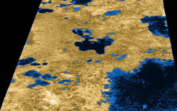 Mặt trăng lớn nhất Sao Thổ chứa 1 tầng nước lỏng