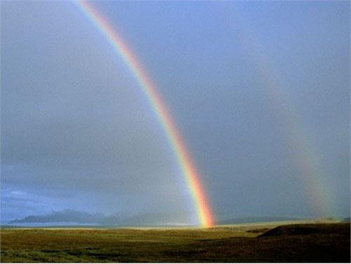 Màu sắc tươi sáng của cầu vồng đã làm bừng sáng vùng lãnh nguyên Alaska, nơi có trữ lượng dầu mỏ vô cùng lớn. Lãnh nguyên Alaska còn là quê hương của tuần lộc caribu - nguồn thực phẩm bổ dưỡng quan trọng tại nhiều khu vực trong đó có khu vực dầu lửa North Slope thuộc Alaska.