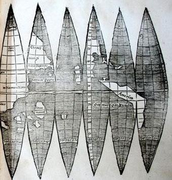 Phát hiện bản đồ châu Mỹ hiếm hoi