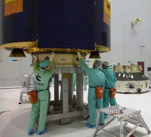 Châu Âu phóng thành công vệ tinh khí tượng mới