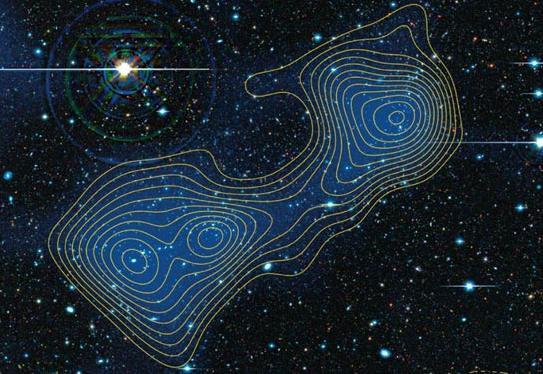 Phát hiện sợi vật chất tối