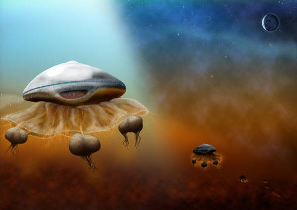 Người ngoài hành tinh giống sứa?