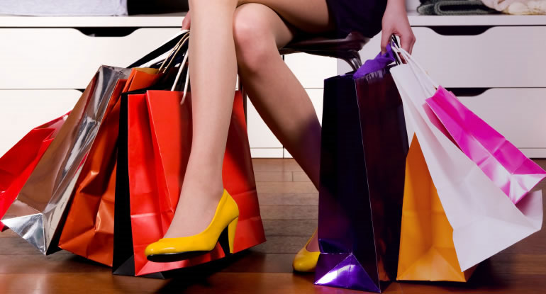Não nghĩ gì khi mua sắm?