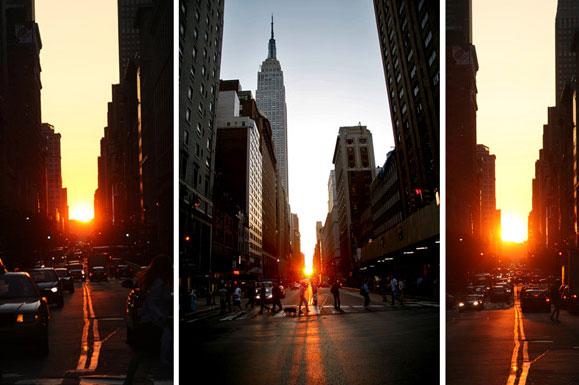 Sốt với hiện tượng thiên nhiên kỳ thú tại New York