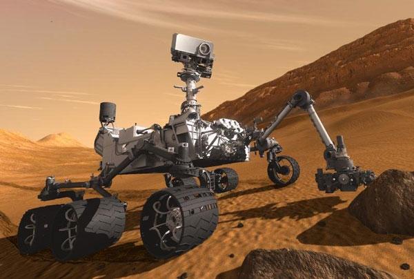 Robot thăm dò sao Hỏa sẽ hạ cánh bừa