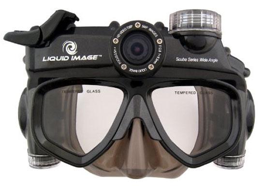 Máy quay Full HD kiêm kính bơi của Liquid Image