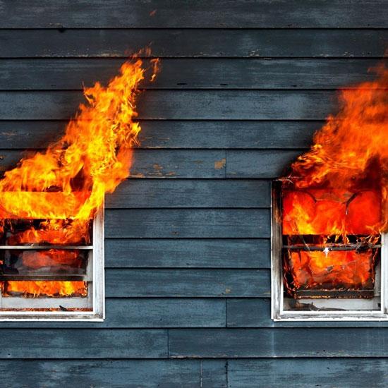 Dập đám cháy bằng loa