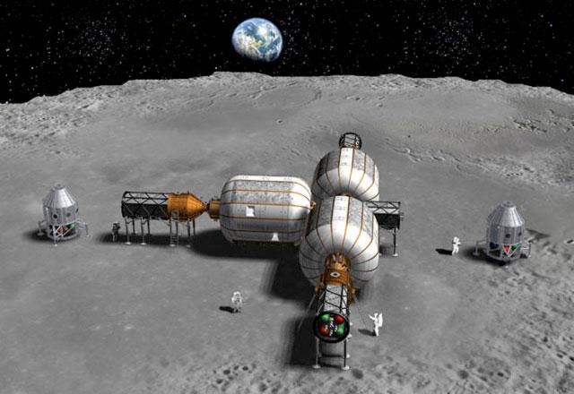 Nga xây dựng tàu vũ trụ có người lái trên mặt trăng