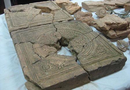 Phát hiện phế tích kiến trúc thời Lý tại Nam Định