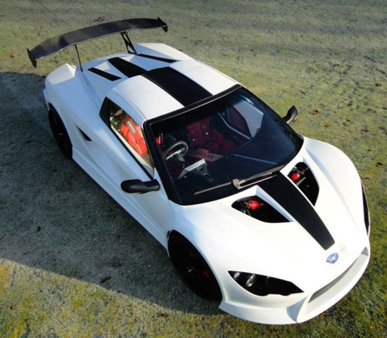 K1 Evelio - siêu xe thể thao chạy điện