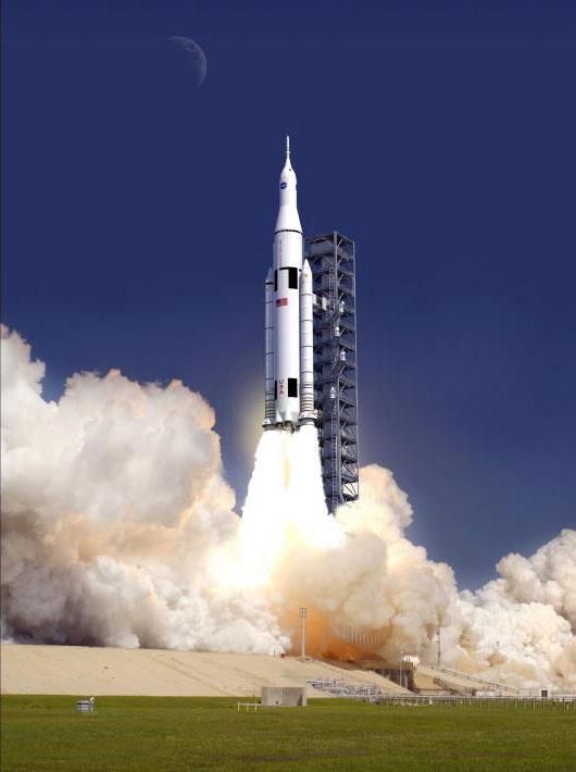 Tên lửa phóng tàu vũ trụ thế hệ mới của NASA