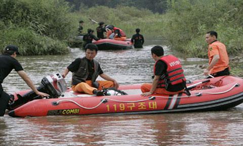 Lũ lụt làm chết 88 người Triều Tiên