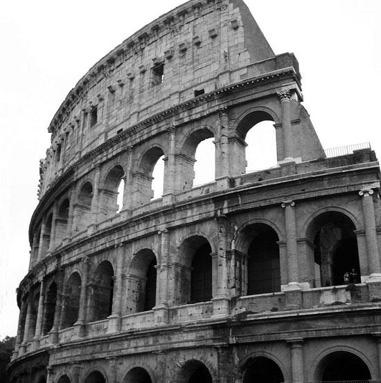 Đấu trường La Mã lún 38cm