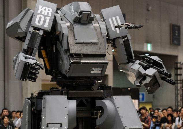 Video: Siêu robot 4 tấn nhả đạn khi chủ nhân cười