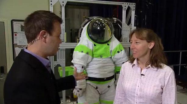 Mỹ hé lộ mẫu trang phục mới cho phi hành gia