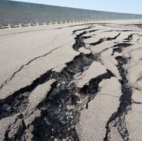 Trái đất tự liền sẹo sau địa chấn