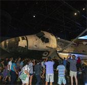 Tàu con thoi Atlantis tái xuất ở triển lãm