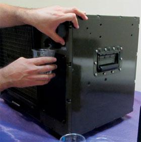 Chế tạo nước từ không khí