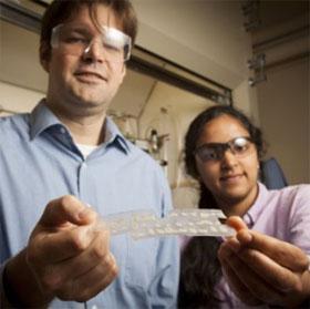 Polymer phát quang giúp phát hiện chất nổ